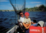 Andrew and another great fishing buddy, John Nadolski.