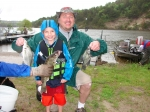 Andrew's cousin, Mac Drey, and Uncle Ryan teamed up together and caught a few fish and had a great time.